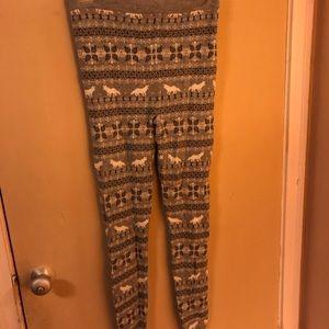 Xhilaration Sleepwear Sweater Legging/Pant
